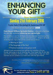 21 feb 2016 Ehancing your Gift